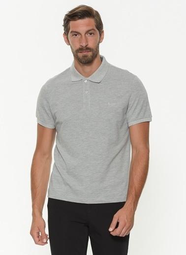 Lee Cooper Polo Yaka Tişört Gri